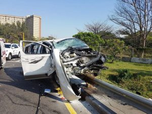 car accident in Durban