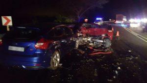 Car accident in Nelspruit