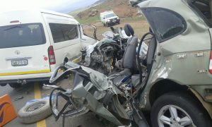 car accident involved with taxi