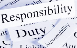 responsibility duty accountability